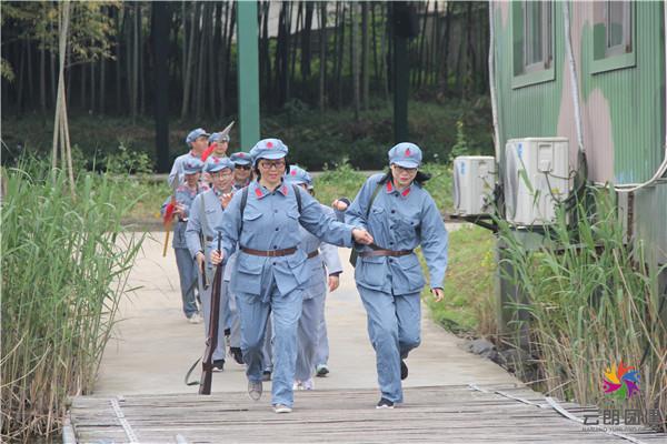 扬州主题团建活动|重走长征之路