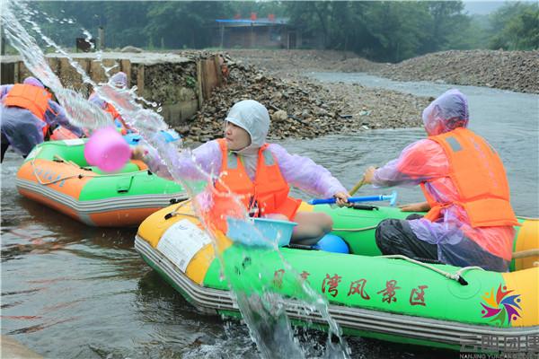 北京城建公司扬州夏日水上团建活动