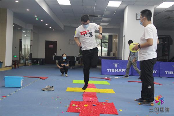 扬州室内趣味团建活动-扬州拓展训练